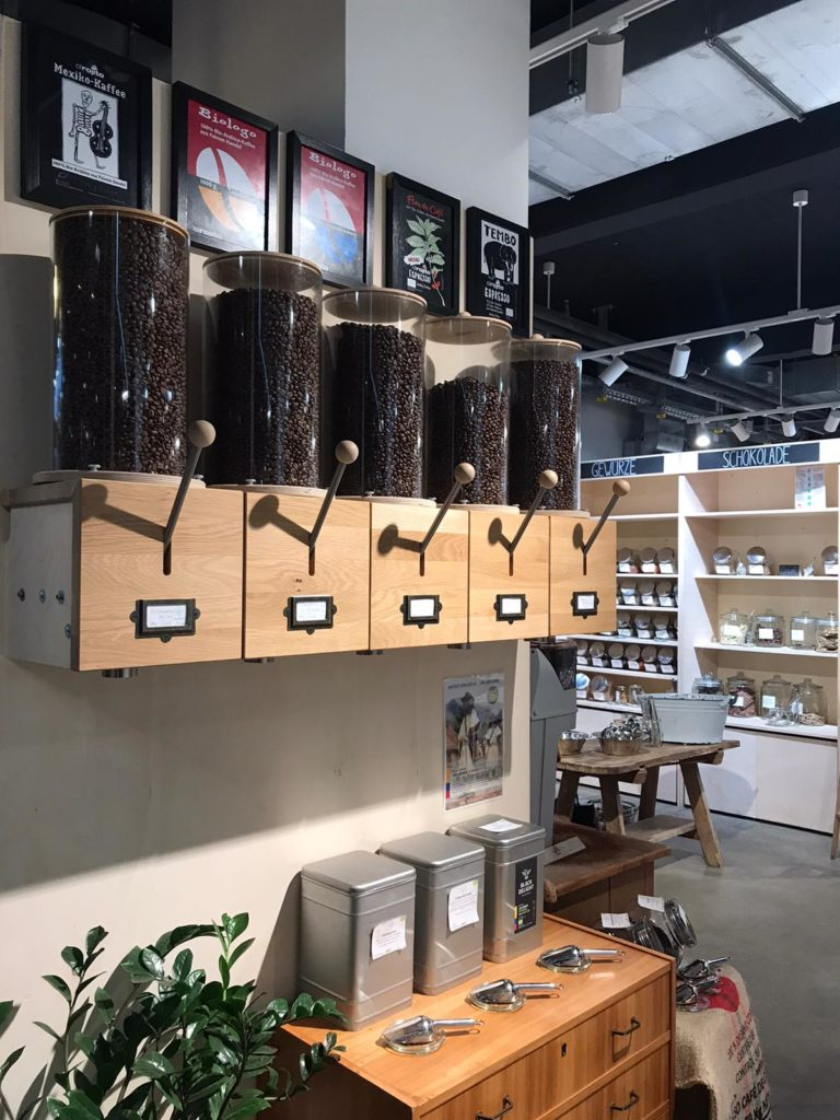 Kaffeespender bei Stückgut in Hamburg